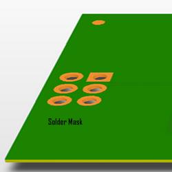 Solder Mask - Cara Membuat Sendiri PCB Sederhana Dengan Transfer Paper