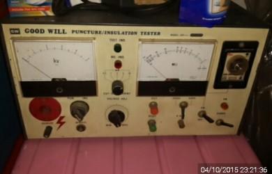 Kegunaan Dan Fungsi Insulation Tester Atau Hipot Tester