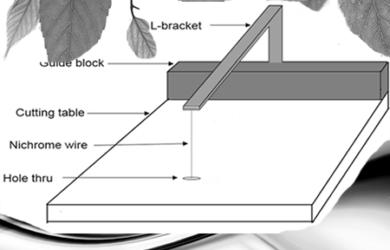 Cara Membuat Alat Pemotong Gabus Atau Styrofoam