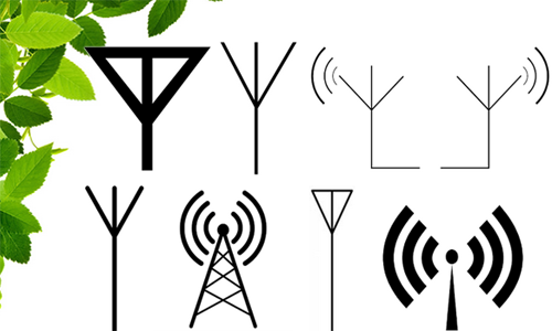 Mengenal Simbol Komponen Elektronik Dasar Rangkaian Elektronika _ Simbol Antena